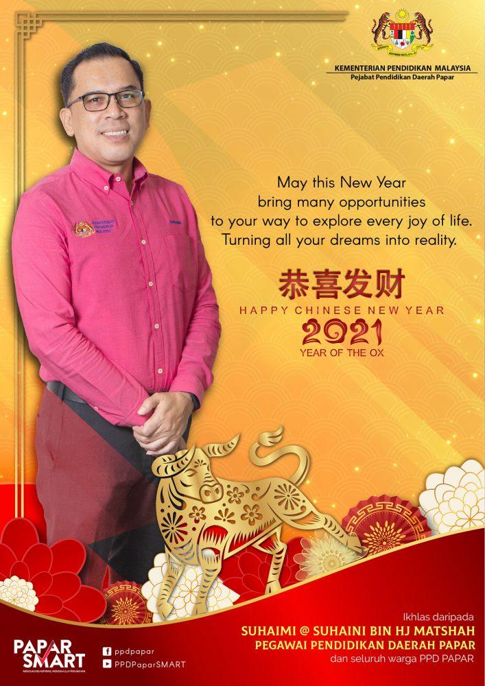 Selamat Menyambut Tahun Baru Cina