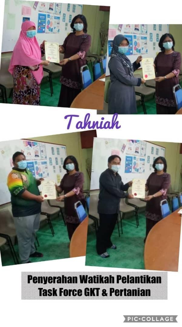 Sesi Penyerahan Watikah Pelantikan Task Force TVET 2021